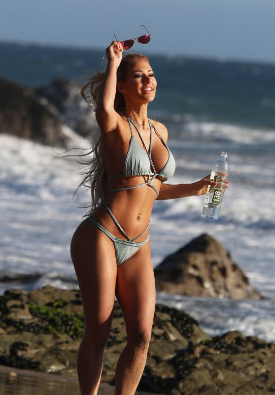 Kindly Myers - 138 Water Bikini Beach Photoshoot in Malibu 11/21/2017