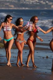 Kindly Myers, Lizzeth Acosta, Kelly Collins and Jaerah Bikini Photoshoot for 138 Water - Malibu 11/12/2017