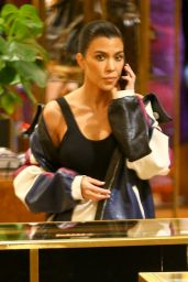 Kourtney Kardashian and Larsa Pippen - Shopping in Beverly Hills 11/27/2017