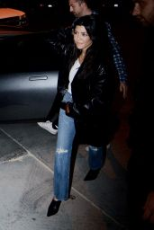 Kourtney Kardashian at Church Service in Beverly Hills 11/01/2017