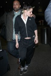 Kristen Stewart - LAX International Airport in Los Angeles 11/21/2017