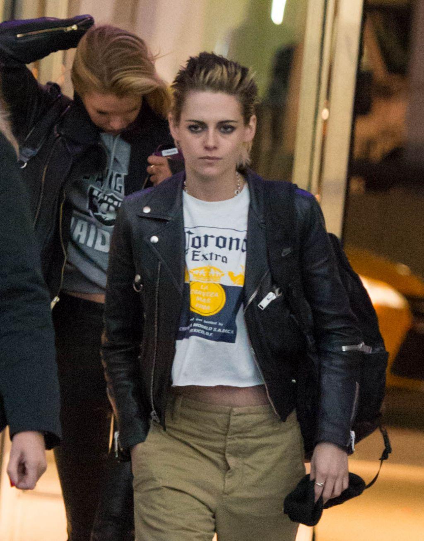 Kristen Stewart Street Style - NYC 11/15/2017
