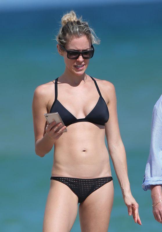 Kristin Cavallari in Bikini on the Beach in Miami 11/05/2017