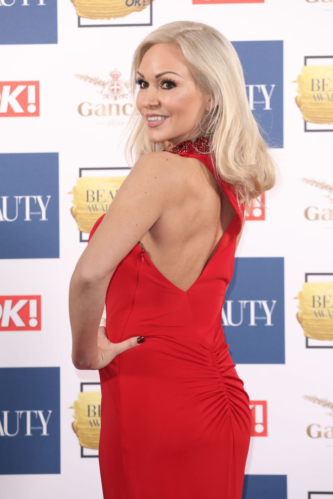 Kristina Rihanoff Beauty Awards With Ok In London