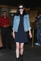 Krysten Ritter at New York Live in NYC 11/07/2017