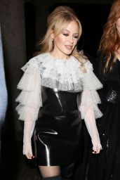 Kylie Minogue - Covent Garden Christmas Lights Turn On in London 11/14/2017