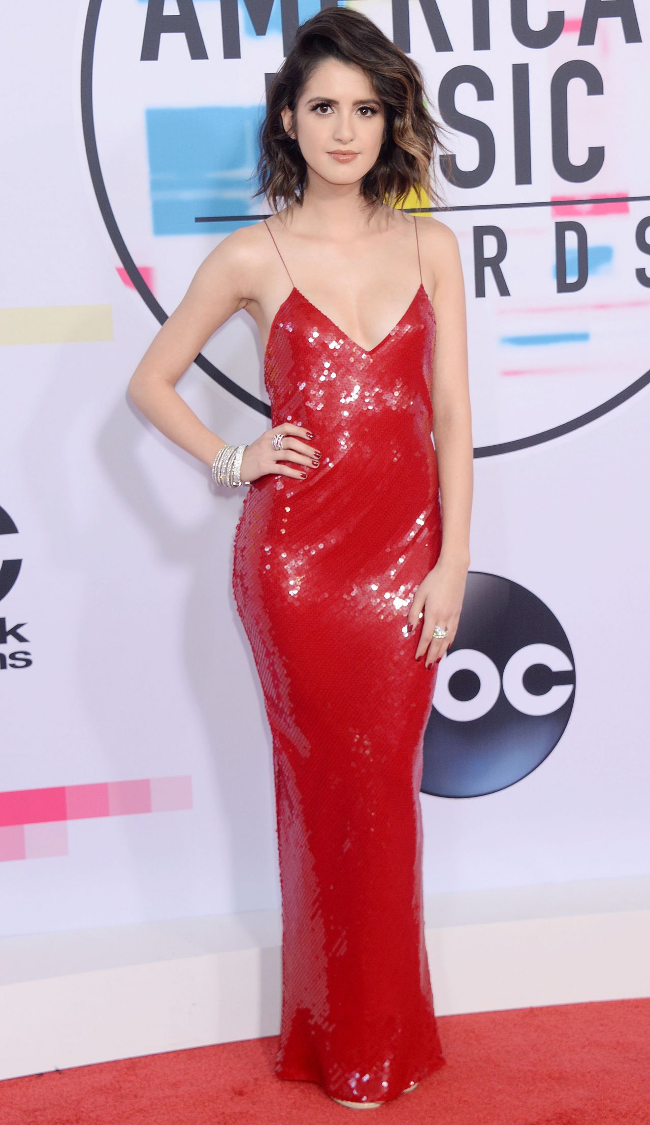 Laura Marano American Music Awards 2017 In Los Angeles