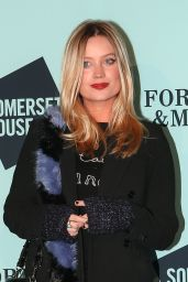 Laura Whitmore - Skate at Somerset House Launch Party in London 11/14/2017