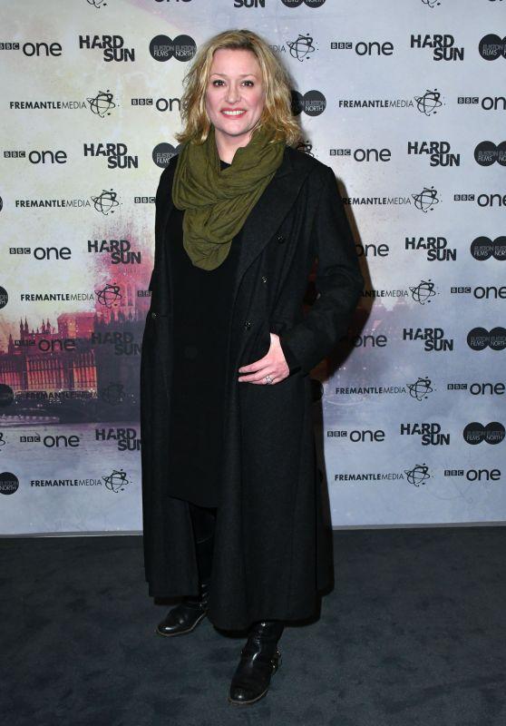 """Laurie Brett – """"Hard Sun"""" TV Series Premiere in London"""
