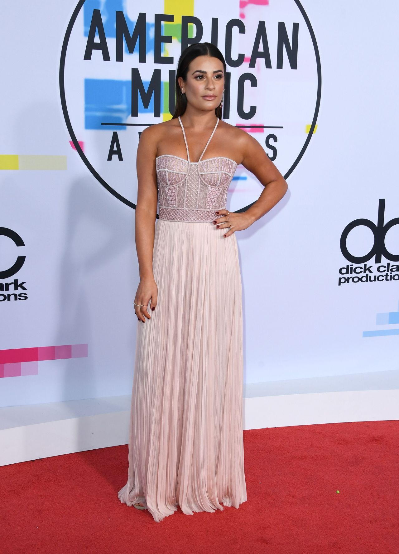 Lea Michele – American Music Awards 2017 in Los Angeles
