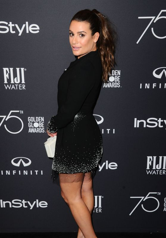 Lea Michele – HFPA and InStyle Celebrate Golden Globe Season in Los Angeles 11/15/2017
