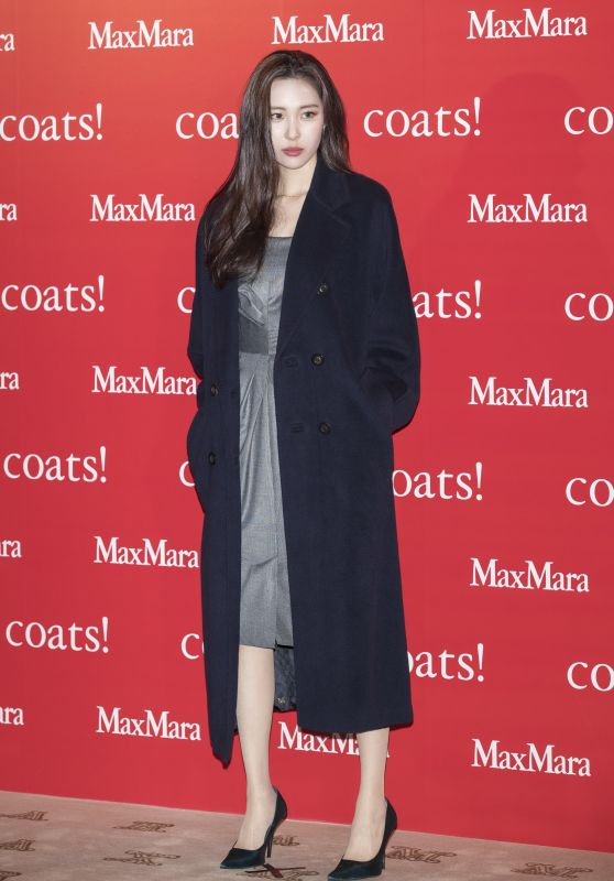 Lee Sunmi - MaxMara Coats Collection Exhibition in Seoul