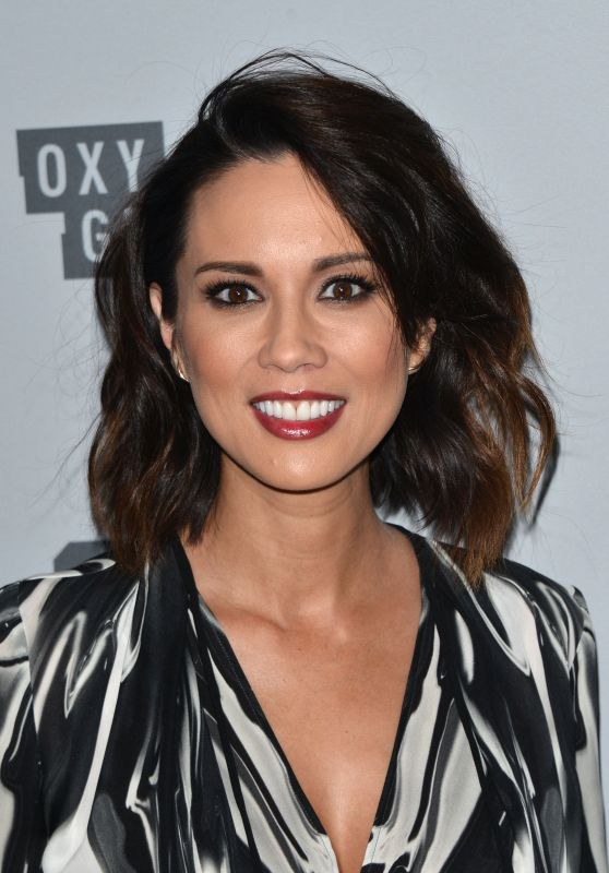 Lexa Doig – NBCUniversal Holiday Kick Off Event in LA 11/13/2017