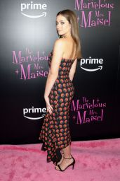 """Lilli Stein – """"The Marvelous Mrs. Maisel"""" TV Series Premiere in New York"""