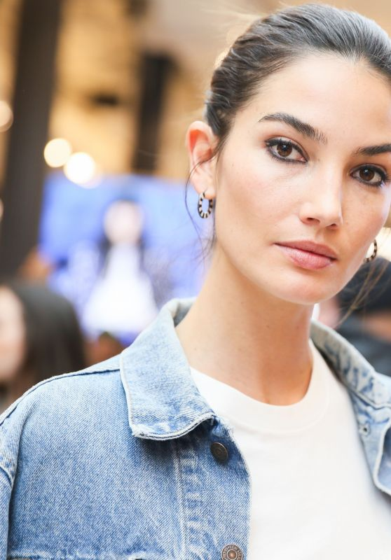 Lily Aldridge - Launch of Levi