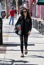 Lily Collins - Out in Los Angeles 11/18/2017