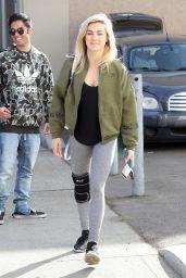 Lindsay Arnold at the Dance Studio in LA 11/17/2017