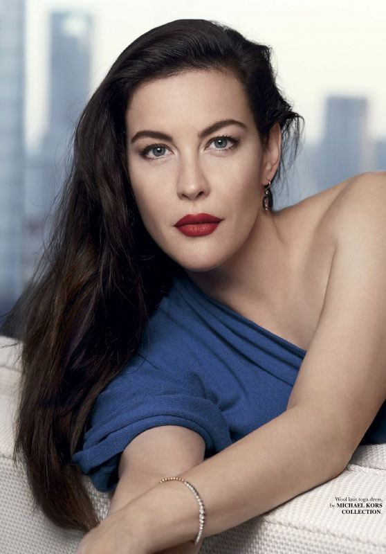 Liv Tyler - Elle Magazine Singapore December 2017 Issue