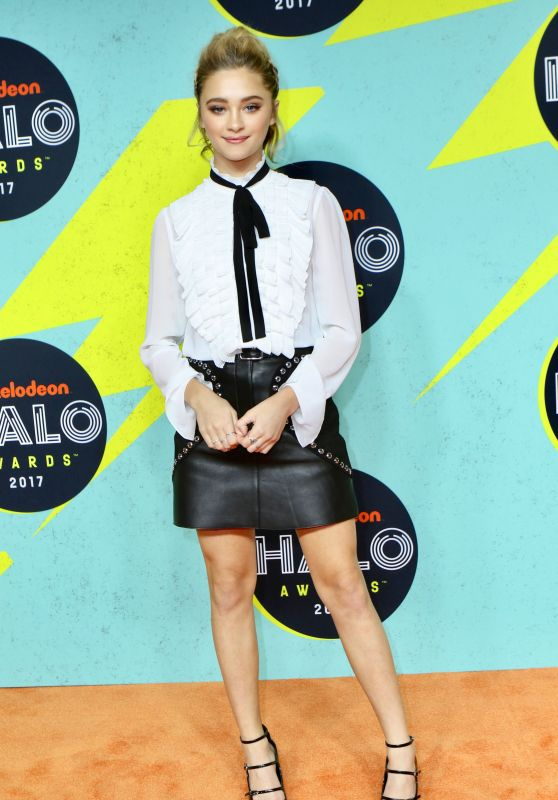 Lizzy Greene – 2017 Nickelodeon Halo Awards in NYC