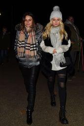 Lottie Moss and Emily Blackwell – Winter Wonderland in London 11/16/2017