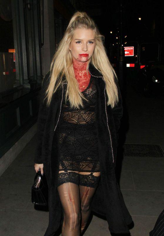 Lottie Moss - Halloween Party Held at Tramp In London 11/01/2017
