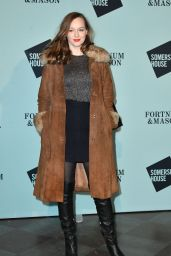 Lou Hayter - Skate at Somerset House Launch Party in London 11/14/2017