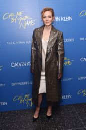 "Louisa Krause – ""Call Me By Your Name"" Screening in New York"