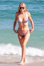 Louisa Warwick in Bikini - Miami Beach 11/25/2017