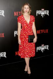 """Lucy Fry – """"Marvel's The Punisher"""" Premiere in New York"""
