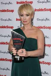 Lysette Anthony at Inside Soap Awards 2017 in London