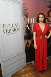 Madeleine Coghlan - Eden Sassoon`s LA Cover Party for Deluxe Version Magazine 11/02/2017