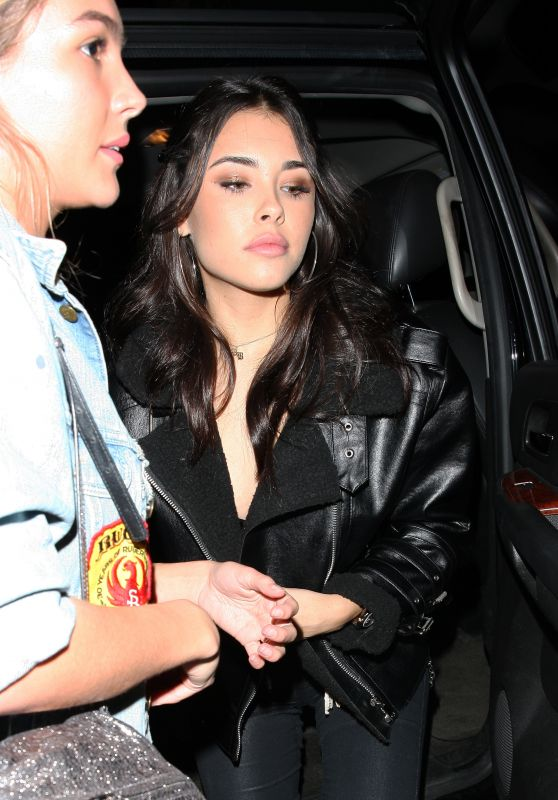 Madison Beer - Goes to the Poppy Club in West Hollywood