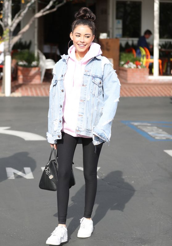 Madison Beer in Spandex - Leaving Fred Segal in West Hollywood