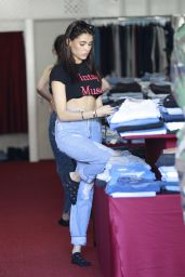 Madison Beer Street Style - Shopping on Melrose Avenue in LA 11/04/2017