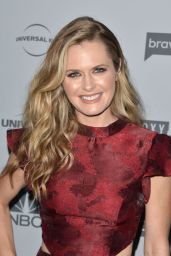 Maggie Lawson – NBCUniversal Holiday Kick Off Event in LA 11/13/2017