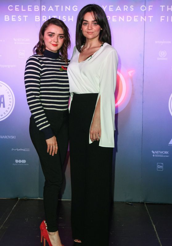 Maisie Williams & Hayley Squires - British Independent Film Awards 2017 Nominations in London