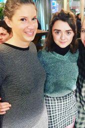 Maisie Williams - Social Media Pics 11/21/2017