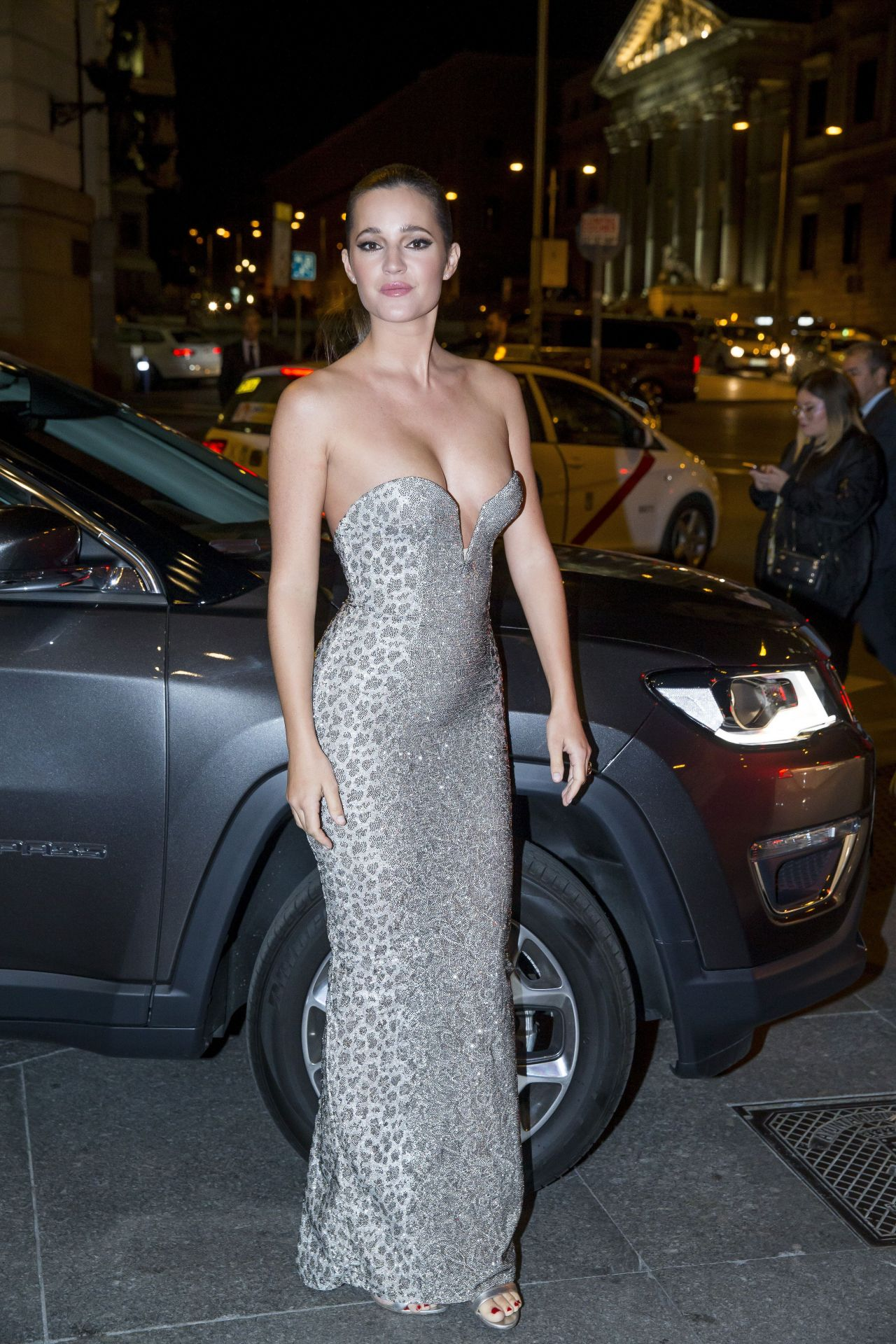 Malena Costa Gq 2017 Men Of The Year Awards In Madrid