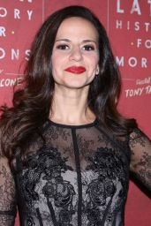 Mandy Gonzalez - Latin History For Morons Opening Night in New York 11/15/2017
