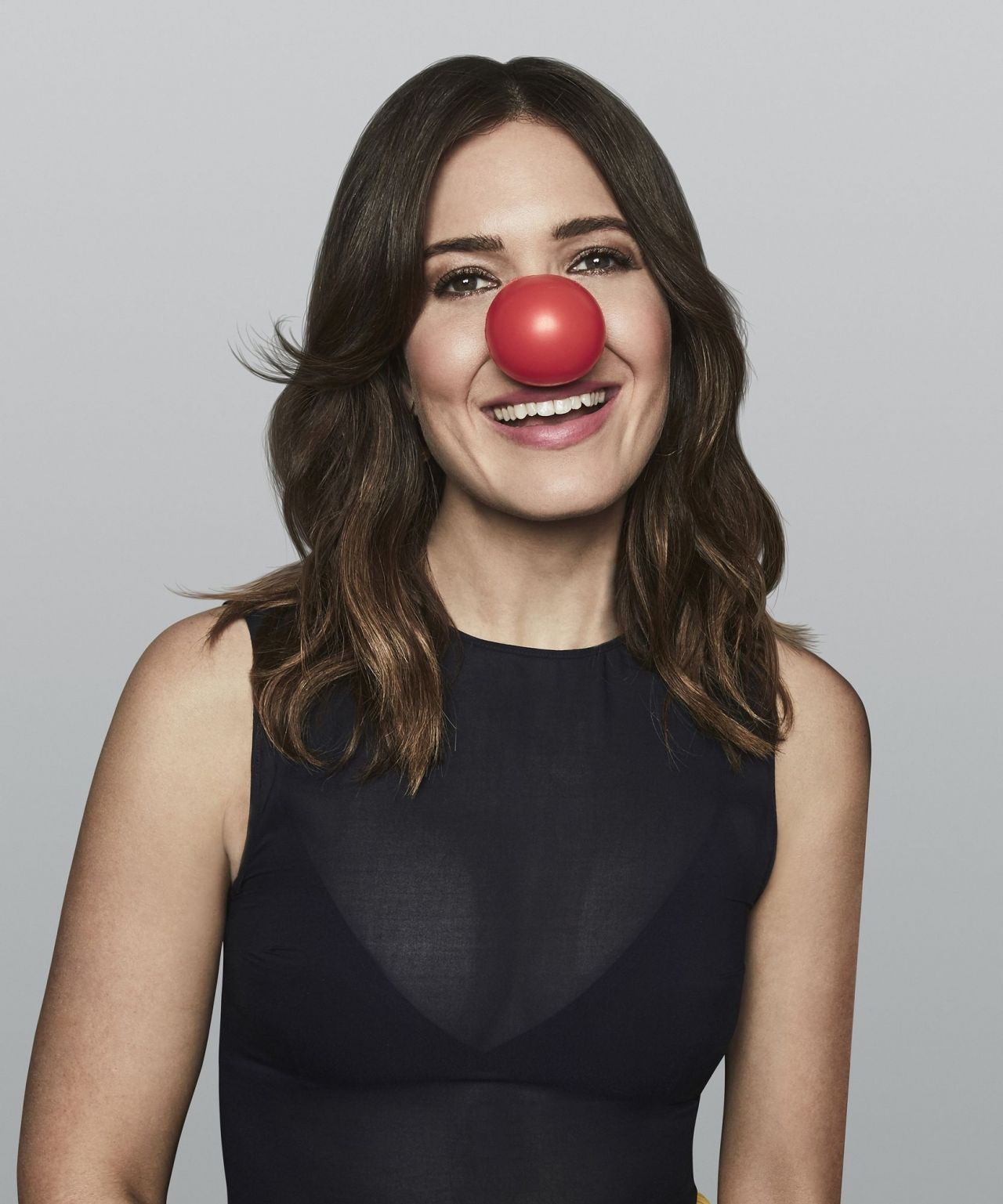 Mandy Moore - Red Nose Day Photoshoot 2017