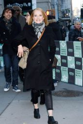 Marg Helgenberger at BUILD in NYC 11/17/2017