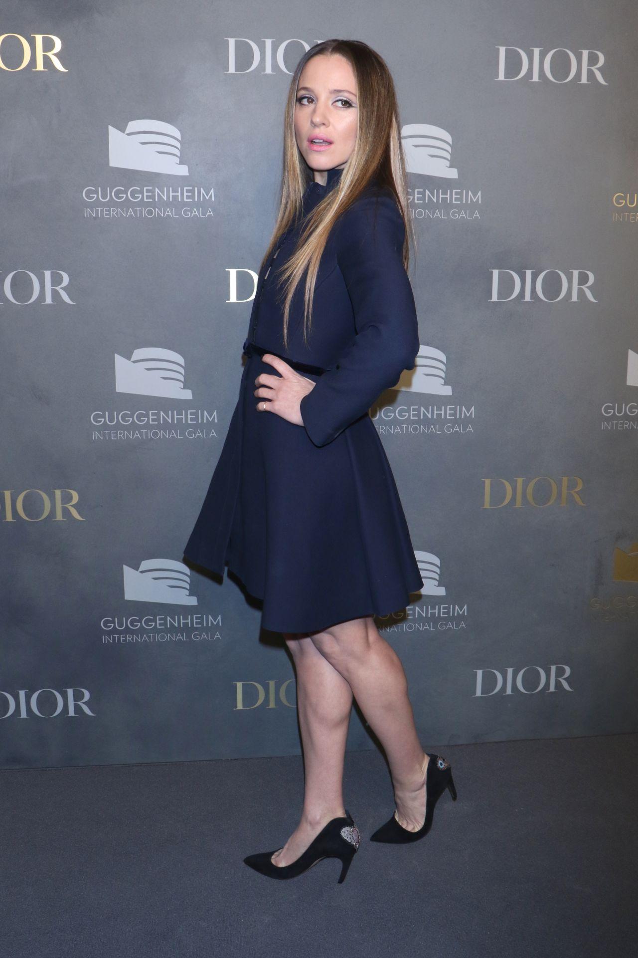 Margarita Levieva Guggenheim International Gala In New