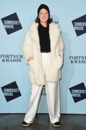 Margo Stilley - Skate at Somerset House Launch Party in London 11/14/2017