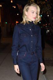 "Margot Robbie - Heading to the TimesTalks Screening of ""I, Tonya"" in NYC"