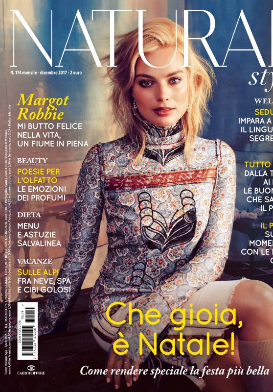 Margot Robbie - Natural Style Magazine December 2017