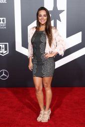 """Maria Elisa Camargo – """"Justice League"""" Red Carpet in Los Angeles"""