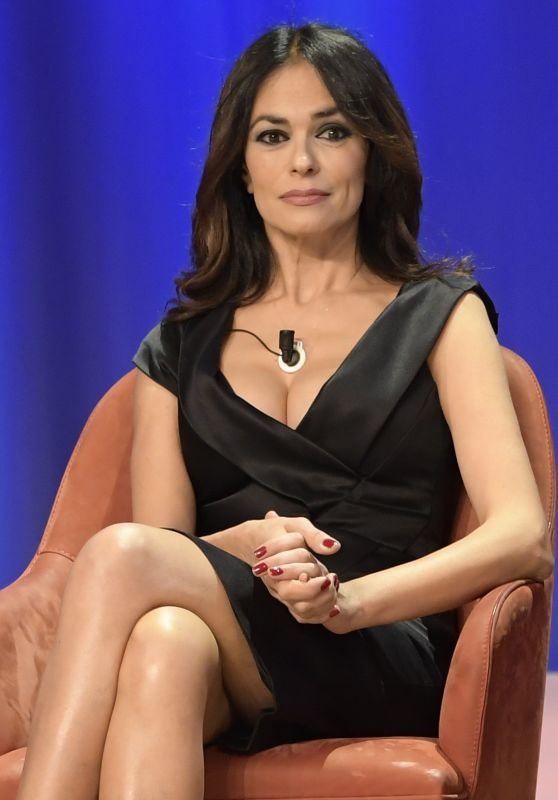 Maria Grazia Cucinotta – Maurizio Costanzo Show Episode 2 in Rome 11/15/2017