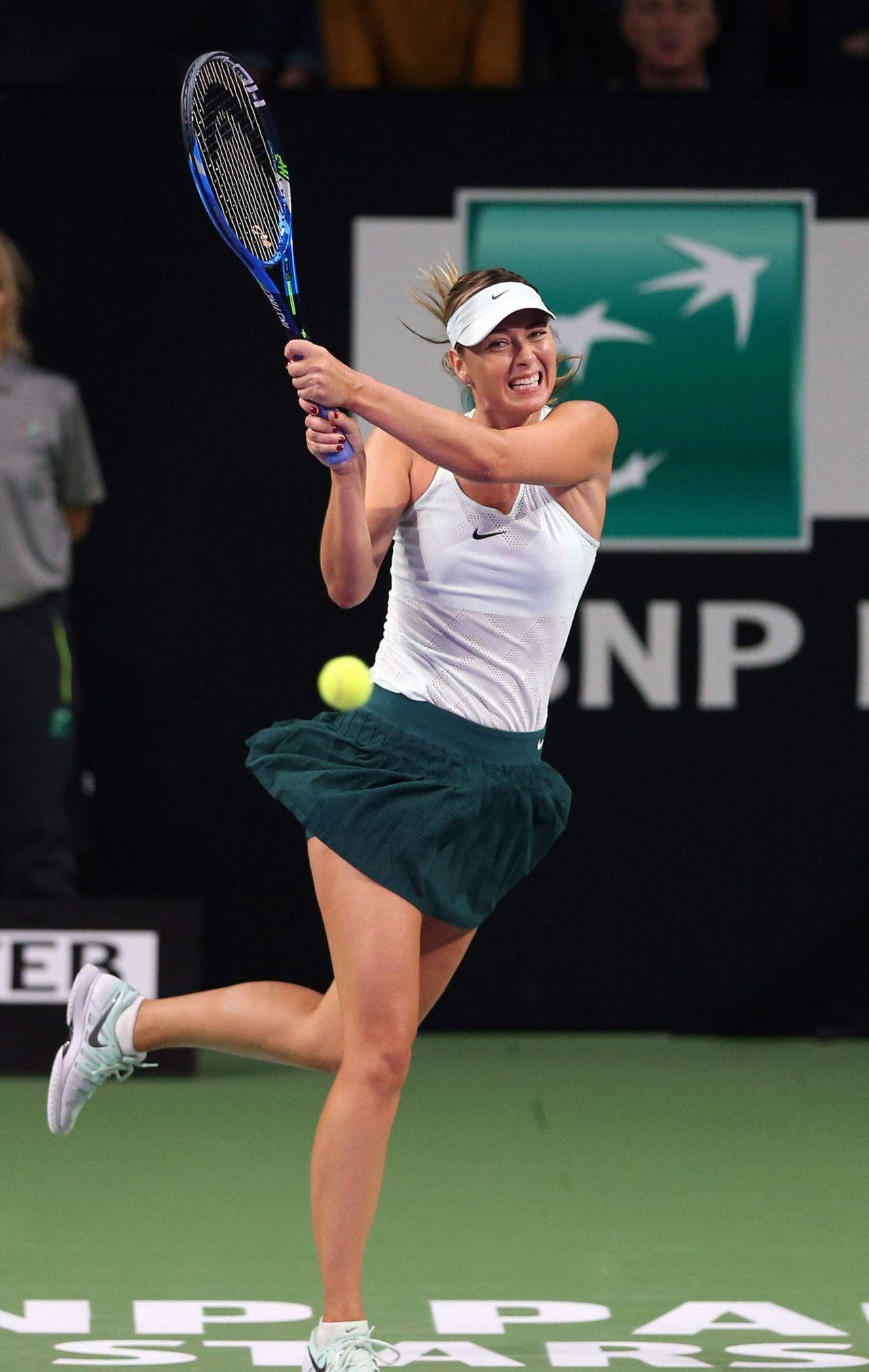 Maria Sharapova Teb Bnp Paribas Tennis Stars Series In