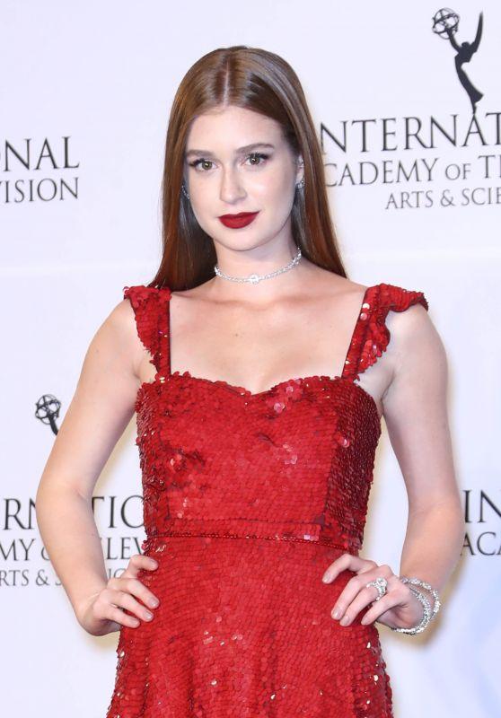 Marina Ruy Barbosa – International Emmy Awards 2017 in New York