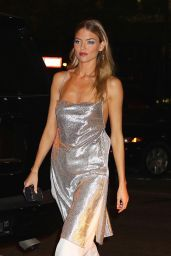 Martha Hunt - Outside the VS Show Viewing Party in NYC